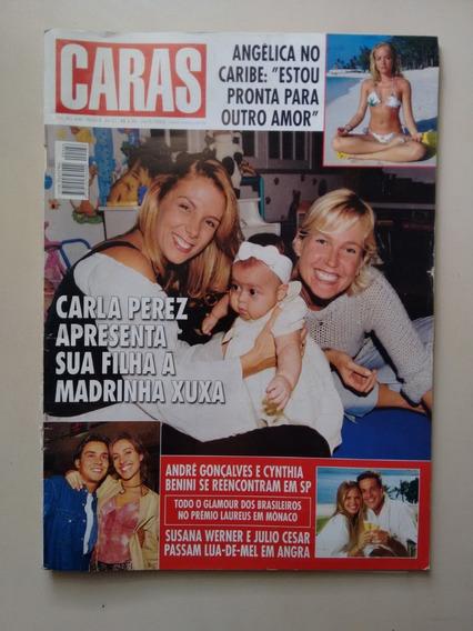 Revista Caras 446 Angélica Xuxa Carla Perez Ano 2002 F499