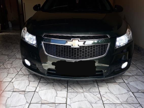 Chevrolet Cruze Lt 1.8 16v Flex 2012 Verde Completo Aut.