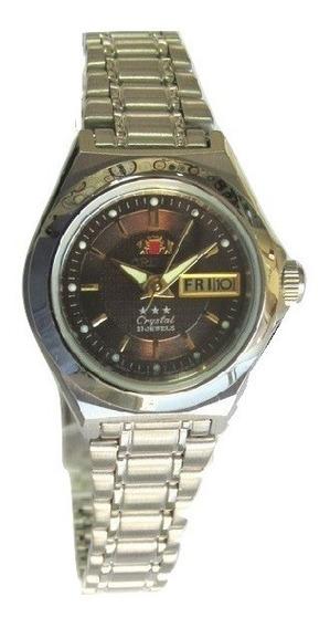Relógio Orient Automático Feminino Fnq18004t9 Semi Novo