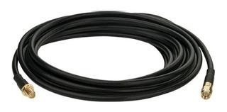 3m Cable Blindado Para Antena Wifi Baja Perdida Rp-sma