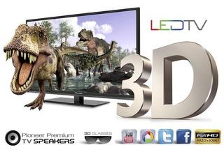 Tv Led 42 Smart 3d Pioneer Full-hd Wi Fi Hdmi Usb
