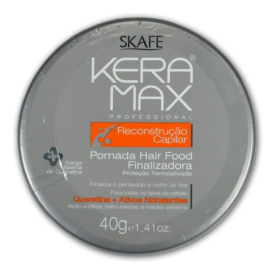 Pomada Hair Food Finalizador Keramax 40g - Skafe