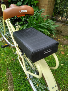 Asiento Acolchado Para Portaequipaje De Bicicleta