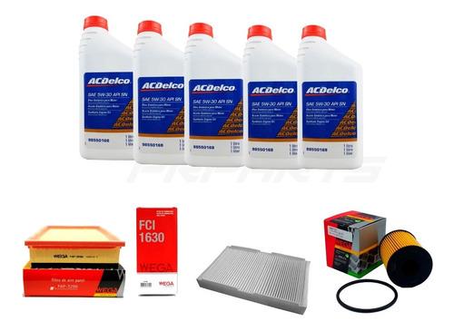 Imagem 1 de 1 de Kit Revisão Óleo E Filtros Citroen C4 Hatch Palla 2.0 16v