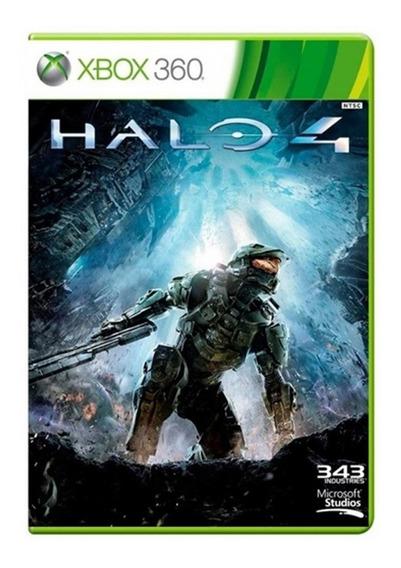 Jogo Halo 4 - Xbox 360 - Original - Mídia Física - Usado