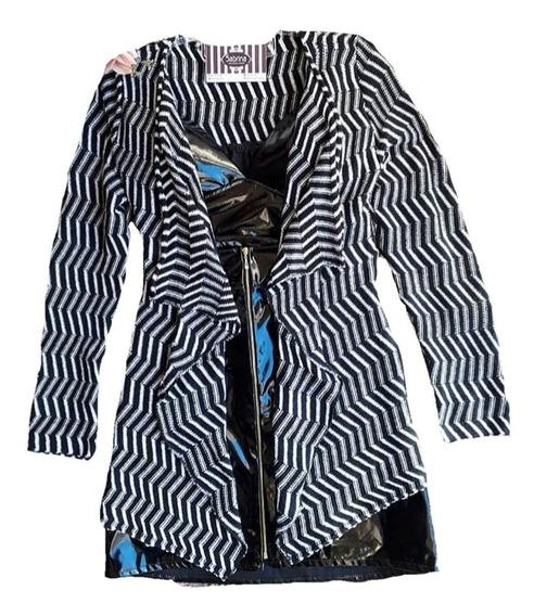 Kimono Feminino Zigzag Blusa Frio Tricot Croche- 2019