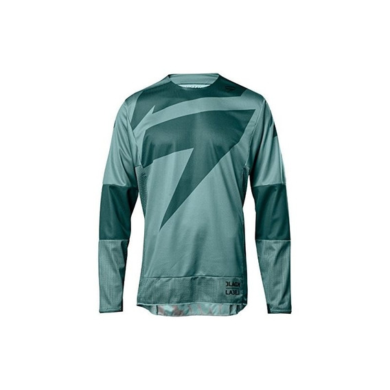 2018 Shift Black Label Línea Principal Jersey-teal-s