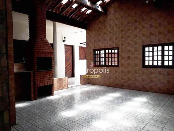 Ampla Casa Comercial, 265m², 5 Salas - Santa Paula - São Caetano Do Sul/sp - Ca0450