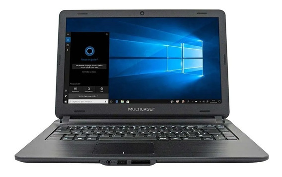 Notebook Intel I3 4gb Ram Ssd 120gb Tela 14 Pol. Windows 10