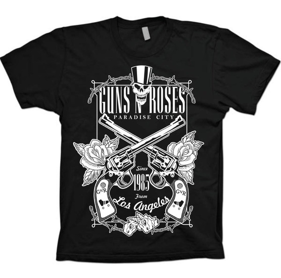 Camisa Bandas Rock - Guns N