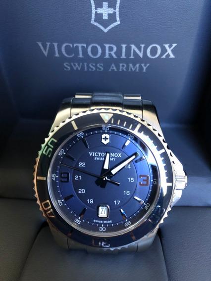 Relógio Victorinox 241602 Swiss Army Maverick Chrono Azul