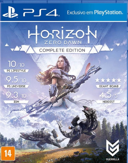 Game Jogo Horizon Zero Dawn Ps4 Lacrado