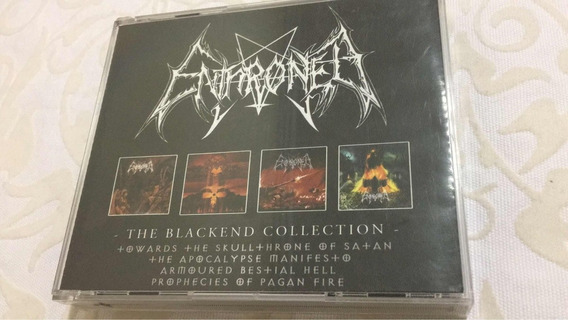 Fat Box Enthroned The Blackend Collection 4 Cds 2004 Edition