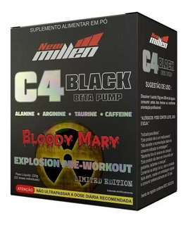C4 Beta Pump Black 22 Sticks New Millen - Bloody Mary