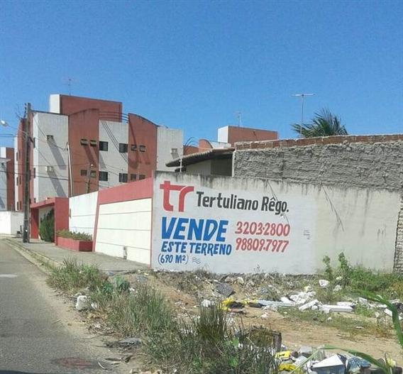 Terreno À Venda, 690 M² Por R$ 400.000,00 - Pitimbu - Natal/rn - Te2089