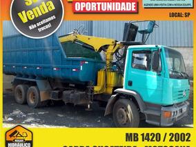Mb 1420 / 2002 - Garra Sucateira Motocana Com Basculante