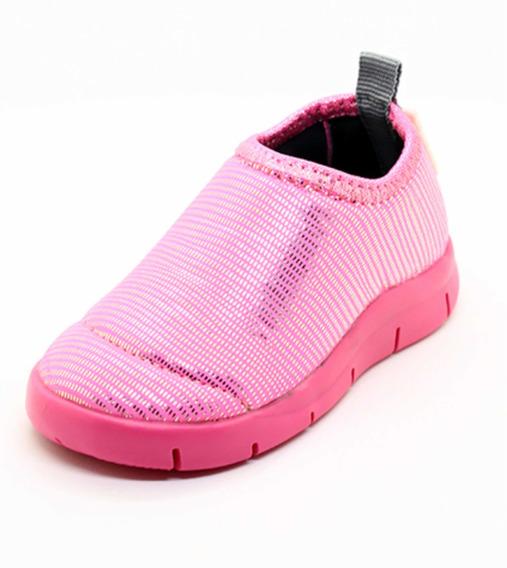 Zapatillas Surf Diez Indiecitos Elastizadas 18 Al 26 Rosa