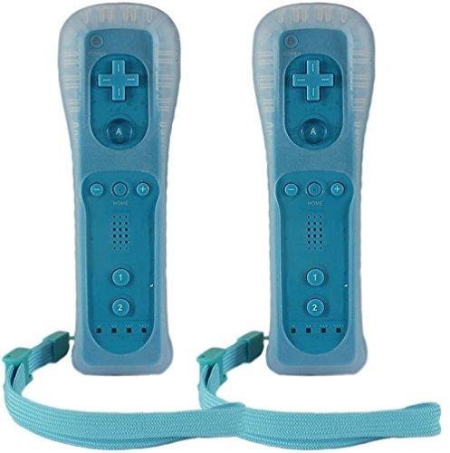 Controlador Homeabc Remote Plus Para Wii, Paquete De 2, Azul
