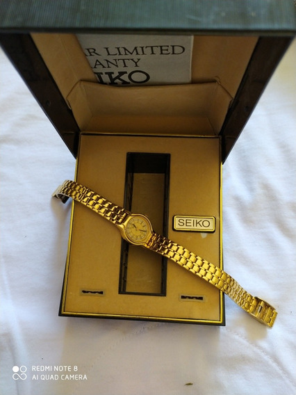 Relógio Seiko Feminino Dourado