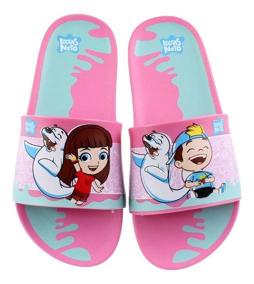 Chinelo Infantil Slide Luccas Neto Grendene Kids Original