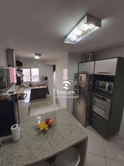 Apartamento Com 3 Dormitórios À Venda, 88 M² Por R$ 480.000,00 - Vila Gilda - Santo André/sp - Ap13723