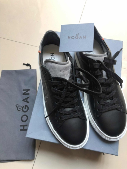 Sneakers Tenis Zapatos Hogan De Piel Made In Italia No Gucci
