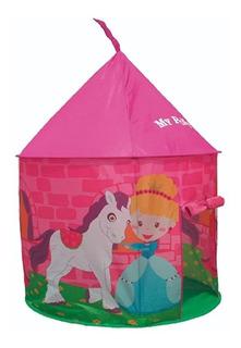 Casita Para Niñas Castillo Pony Carpa Infantil 105 Cm 8315