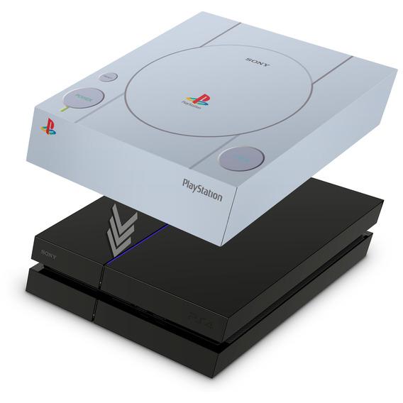 Capa Ps4 Fat Anti Poeira Playstation 4 Sony Playstation 1
