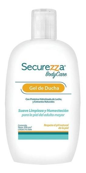Gel De Ducha Securezza Bodycare Caja 10 Unidades 200 Cc C/u