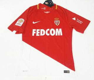 Camisa Mônaco Home 2017 - Jogador