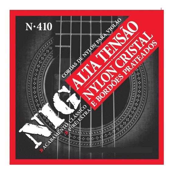 Encordoamento Nig Cordas Violão Nylon Alta 029 044 N410