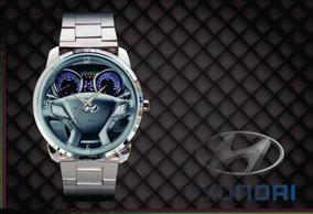 Relogio De Pulso Personalizado Painel Volante Hyundai Hb20 X