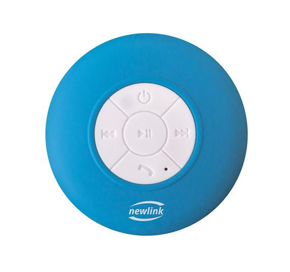 Caixa De Som Bluetooth Speaker Bubble Azul Sp109 Newlink