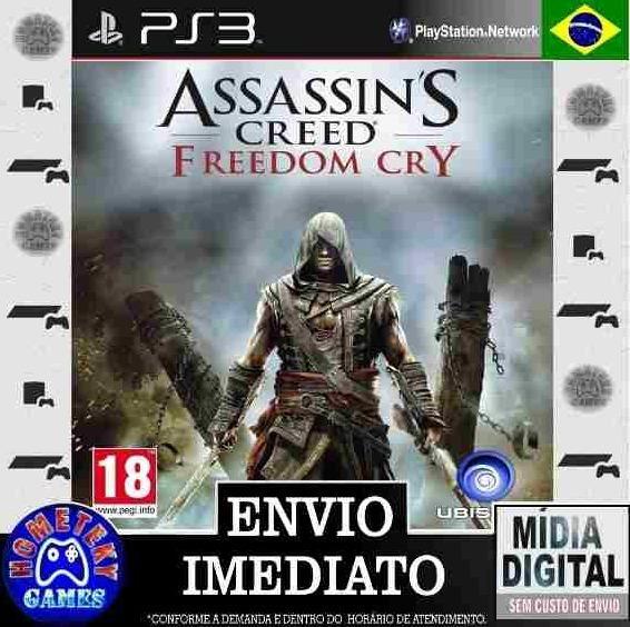 Assassins Creed Freedom Cry - Ps3 Psn - Português Br