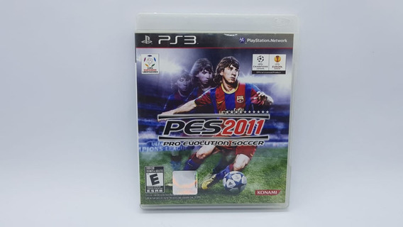 Pes 2011 - Ps3 - Mídia Física 100% Original
