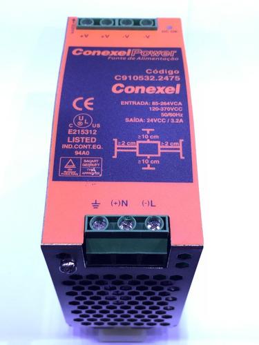 Fonte De Alimentação Conexel Power 24v 3.2a C910532.2475