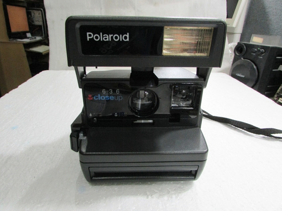 Maquina Fotografica Polaroid 636 Instantanea Original