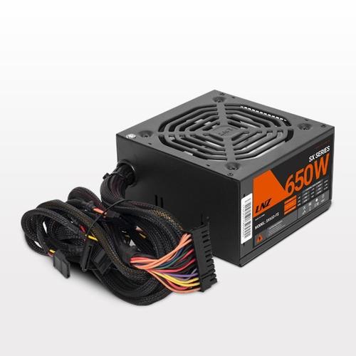 Fuente Pc Gamer 650 Watts Lnz Mallado Cooler 120mm 6 Pines