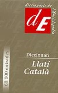 Diccionari Llati-catala (libro E. Envío Gratis 25 Días