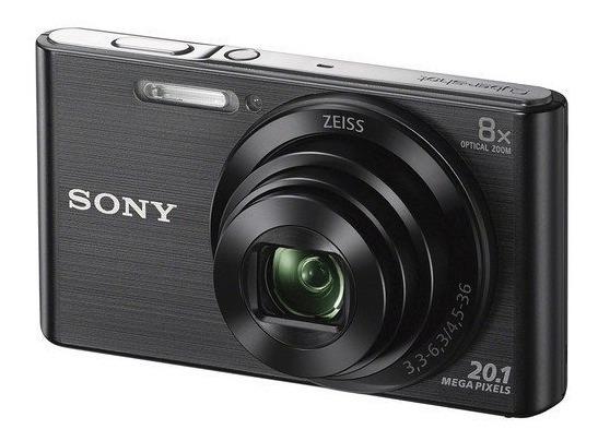 Câmera Sony Dsc-w830 Preta 20.1 Mp Zoom 8x W830