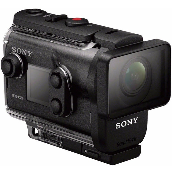 Filmadora Sony Action Cam Hdr-as50r Com Controle Live-view