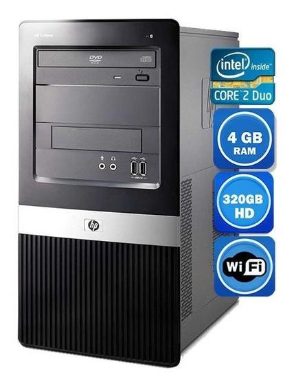 Pc Hp Dx 2390 Intel 4gb Hd 320gb Wi-fi