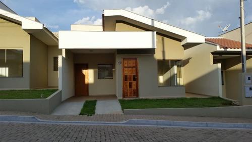 Imagem 1 de 16 de Casa Em Condomínio Fechado Com 3 Dormitórios À Venda, 70 M² Por R$ 245.000 - Centro - Cambé/pr - Ca1380