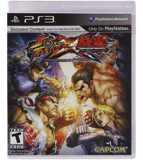 Street Fighter Vs Tekken - Ps3 - Digital - Manvicio Store