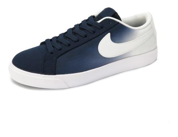 Tênis Nike Sb Blazer Vapor Txt Obsidian White/blue