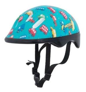 Capacete Infantil Bicicleta Proteção Patins Patinete Skat