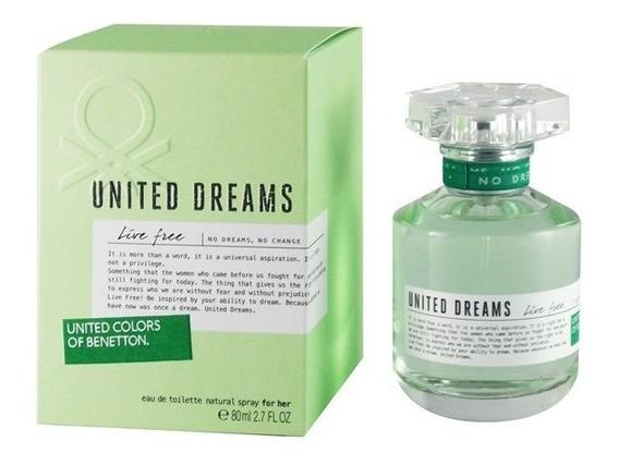 United Dreams Green Live Free De Benetton