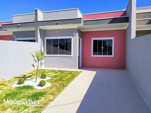 Casa Para Venda Em Fazenda Rio Grande, Eucaliptos, 3 Dormitórios, 1 Banheiro, 2 Vagas - Faz6060_1-1728631