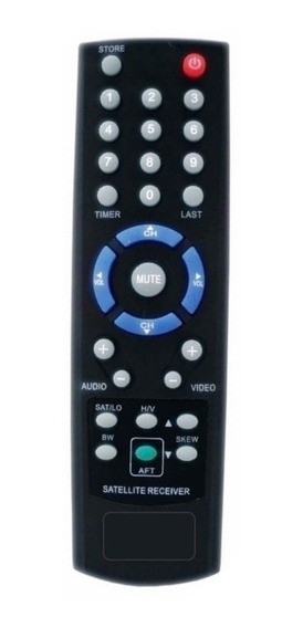 Controle Remoto Receptor Parabólica Visiontec Vt-2000