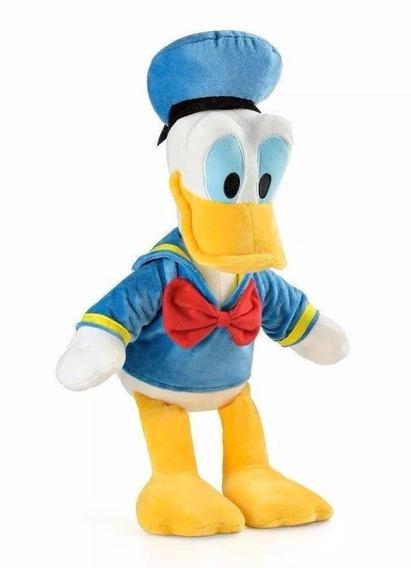 Boneco De Pelúcia Pato Donald Com Som 33cm Multikids - Br334